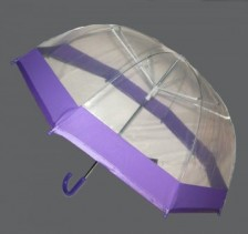 Прозрачен детски чадър